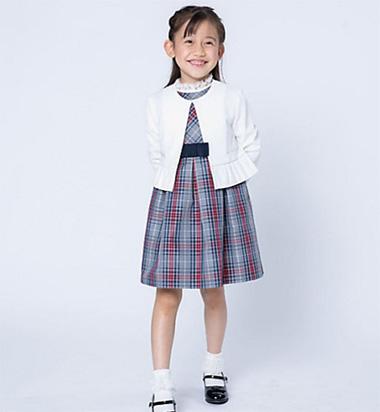 女の子の入学式スーツ・ワンピースおすすめ「コムサフィユ」02