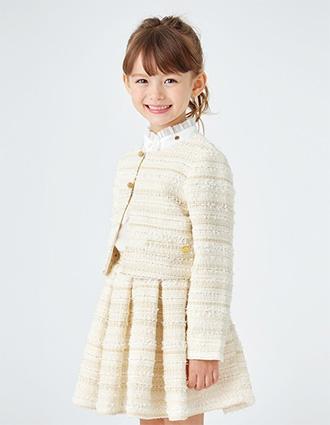 女の子の入学式スーツ・ワンピースおすすめ「ケイトスペード」01