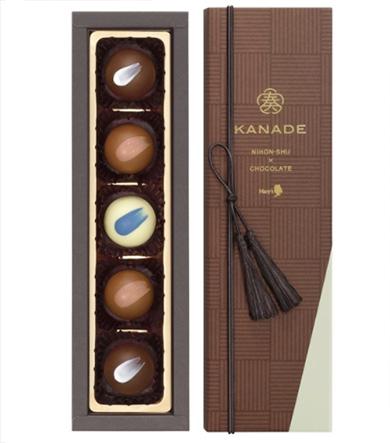 日本酒のチョコレート「メリー 奏」