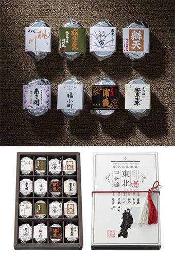 日本酒のチョコレート「東北の酒造」