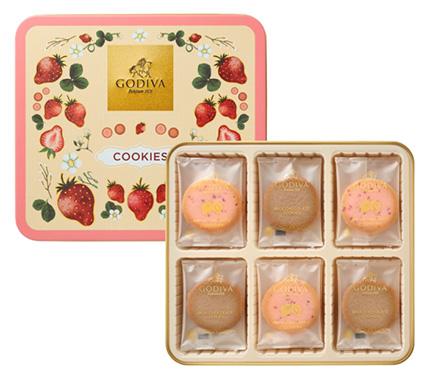 ホワイトデーにおすすめのクッキー「ゴディバ」01