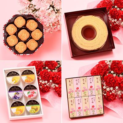 母の日のお花とスイーツのセット「京王百貨店」03