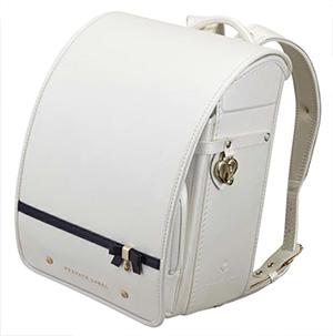プライベートレーベルの白いランドセル・百貨店モデル