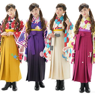 「瑠璃雛菊」卒服袴セット01