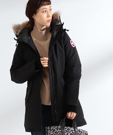 ダウンブランド「カナダグース」のコート01