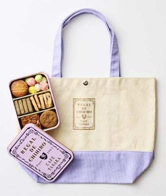「カフェタナカ」クッキーとトードバッグのセット