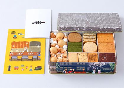 """""""缶入りクッキーのおすすめ「米村」02"""