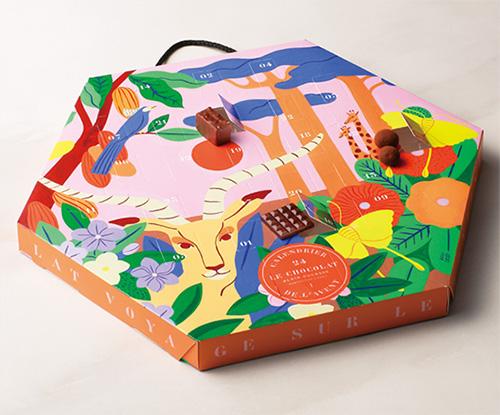 2021年お菓子のアドベントカレンダー「アランデュカス