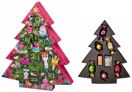 2021年お菓子のアドベントカレンダー「ゴディバ」