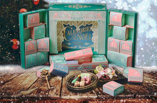 2021年お菓子のアドベントカレンダー「ラトリエモネイ」
